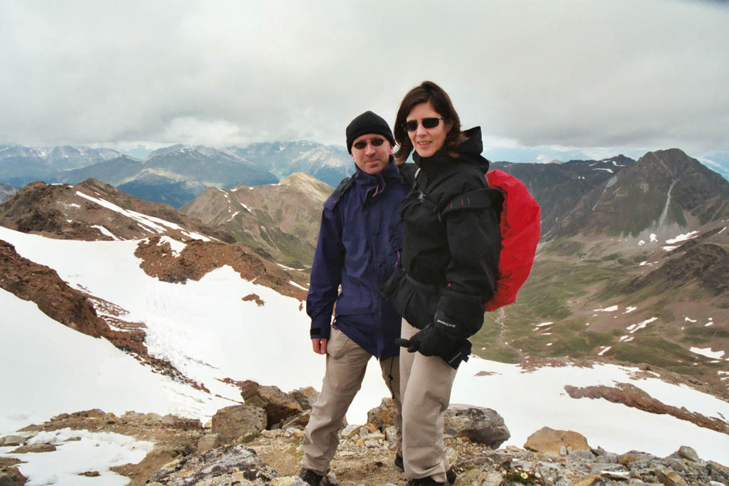 Ortler and Stelvio, July 2004