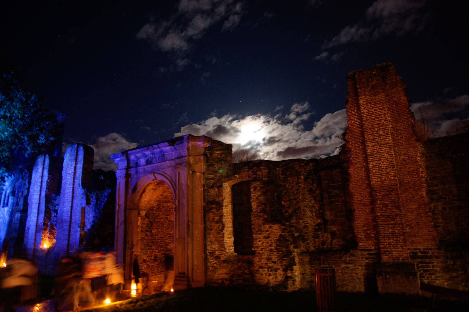 Nuit Magique (Villers Abbey), October 2010