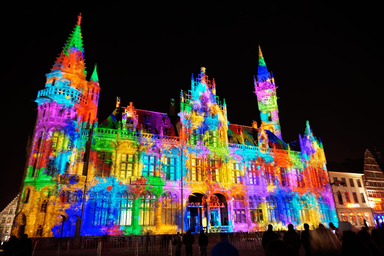 Festival of Light, Ghent, January 2011