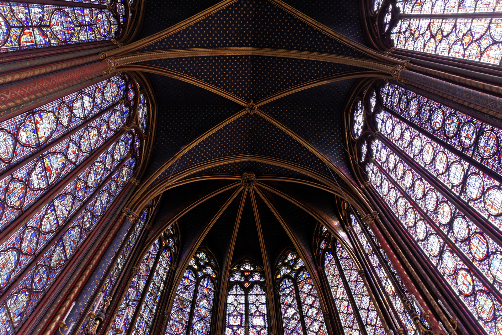 Sainte-Chapelle (Paris), August 2016